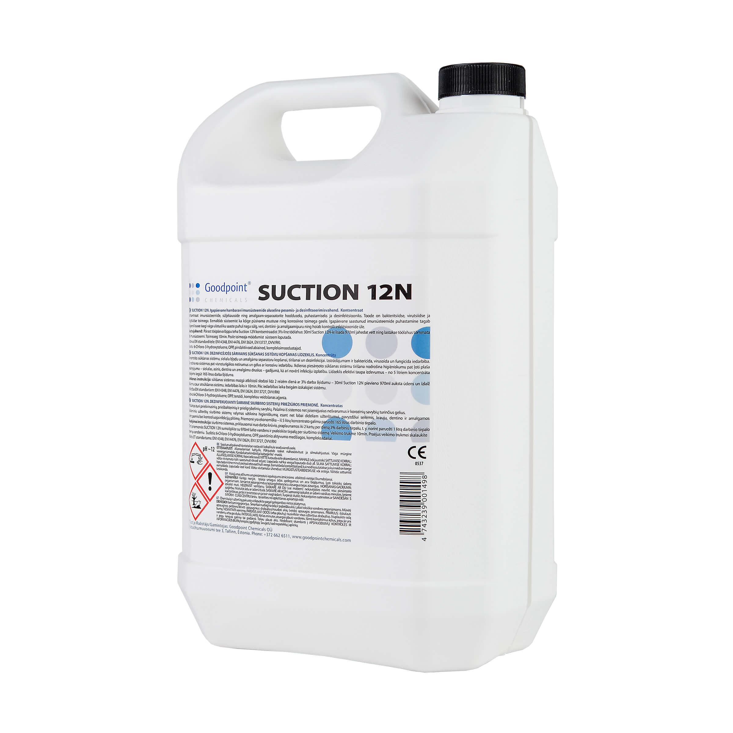 5l kanister suction 12n goodpoint chemicals. Black Bedroom Furniture Sets. Home Design Ideas